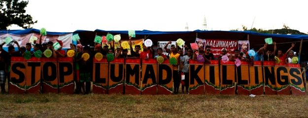 Stop Lumad Killings - the call of our Lumad brothers and sisters.